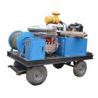 Best 210bar Diesel engine Sewer Drain Cleaning equipment wholesale