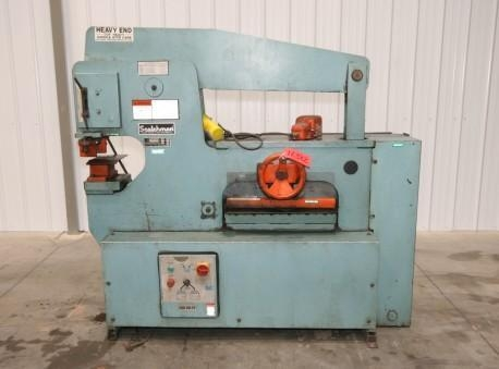 China Asset #: 12382 Scotchman 90 Ton Ironworker, Model 9012-24M