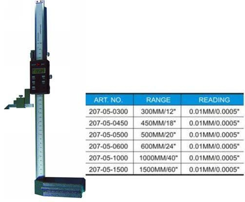 Cheap ELECTRONIC DIGITAL HEIGHT GAUGE for sale