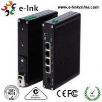 10 / 100M Industrial Ethernet POE Switch , 8 Port Power Over Ethernet Switch