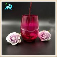 China Buy colored plastic party wine glasses for wedding on sale
