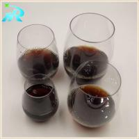 Best Gold monogrammed acrylic plastic wine glasses that look like glass wholesale wholesale
