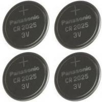 Best Panasonic CR2025-4 CR2025 3V Lithium Coin Battery (Pack of 4) wholesale