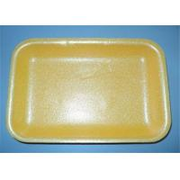 Quality Durable Yellow Plastic Packaging Trays No Nutrition And Flavor Of Food Losing wholesale
