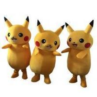 Best Hot Pikachu mascot costume Adult Size Chirstmas Party Fancy Dress Stock wholesale