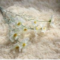 China Cosmos Silk Flower Stem import china fabric artificial flower on sale