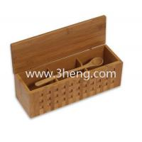 Best Elegant bamboo box with 10-1/4-Inch Triple Scoop Box wholesale