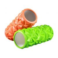 Quality Yoga Series Home Exercise High Density Hollow EVA Grid Foam Roller For Muscle Massage wholesale