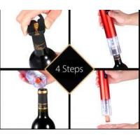 China Multi-Function Wine Bottle Cap Opener Corkscrew Cork Screw Stainless Steel Metal With Handle Home Pa on sale