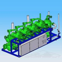 Buy cheap Parallel Screw Refrigeration Compressor Unit from wholesalers