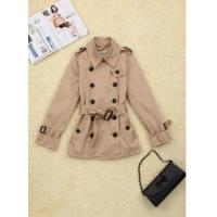 China DU-2 2015 new design women's Trench coat on sale