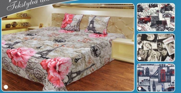 China Cotton Or Microfiber Embroidery Bedspread
