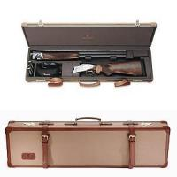 China Canvas & Leather Fitted Shotgun Case on sale