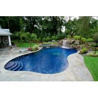Quality Swimming Pool Landscaping: Backyard Swimming Pool Landscaping Design wholesale