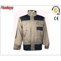 Best Black and light grey mens high quality workwear clothing,Hot sale work jacket china supplier wholesale