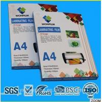 China A4 Laminating Pouches on sale