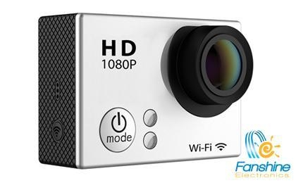 China Waterproof Wifi FHD 1080P Action Camera With 2 Inch LCD Screen