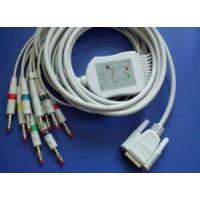 Best Nihon Kohden BA-902D 10lead EKG Cable with Leadwires IEC,banana from China without Resistor wholesale