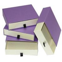 China Custom Handmade Printing Cardboard Recyclable Paper Drawer Box on sale