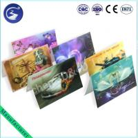 Best Stereoscopic 3D PP Lenticualr Greeting Card wholesale