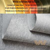 Buy cheap Microfiber Synthetic Leather Base for Bag Stiffener from wholesalers