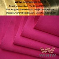 Buy cheap High Quality Nylon/Polyamide Microsuede Leather Material from wholesalers