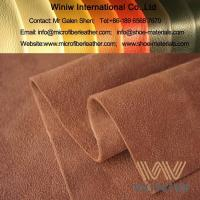 Buy cheap Cow Suede Brushed Microfiber Suede Leather Fabric from wholesalers