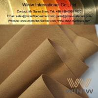 Buy cheap Microfiber Synthetic Suede Leather Material from wholesalers