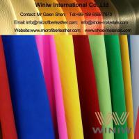 Buy cheap Nylon/Polyamide Ultra Suede Leather Upholstery Fabric Material from wholesalers