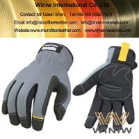 Amara Suede Microfiber Synthetic Leather for Sports Gloves