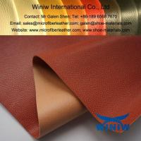 Cheap High Quality Faux Leather Fabric Material for Basketball for sale