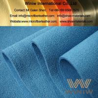 Buy cheap Suede Microfiber Synthetic Leather Fabric Material from wholesalers
