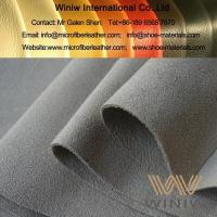 Buy cheap Micro Fiber Suede Leather Material from wholesalers