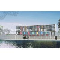 Steel Frame Calculator/facade by France BV Certified Having Exported 200,000 tons
