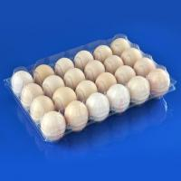 24 Holes Clamshells Plastic Egg Packaging Tray