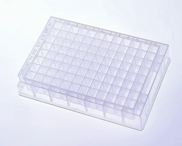 Cheap 1.2ml/ 2.2ml 96 Deep-well plate, Square Well, V Bottom for sale