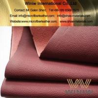 Buy cheap Microfiber Synthetic Car Leather Upholstery Interior Material from wholesalers