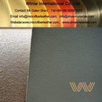 Buy cheap PU Microfiber Nappa Leather Fabric Material For Seat Upholstery from wholesalers