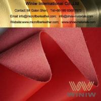 Buy cheap Top Quality Imitation Leather Polyurethane Leather Fabric from wholesalers