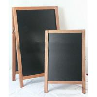 Best Outdoor Sandwich Wood A-Board With Double Sides Black Board wholesale