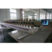 Best Multi Head 480 80 Heads Lace Fabric Computer Programmable Embroidery Machine wholesale