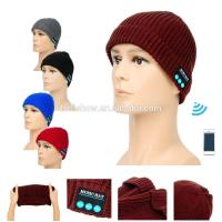 Best Fashion Accessories Best Selling Man Women Knitted Beanie Wireless Bluetooth Music Hat Cap wholesale