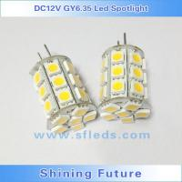 Best GY6.35 Led G6.35 Corn Bulb 27pcs 5050 SMD DC12V 4W Dimmable WarmWhite High Power Spot Light Car wholesale