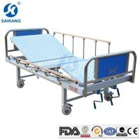 Cheap Functional Manual Adjustable Hospital Bed with Two Functions