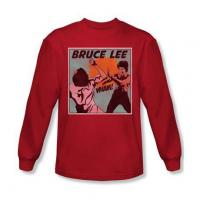 Best BRUCE LEE COMIC PANEL SHIRTS- LONG SLEEVE T-SHIRT wholesale