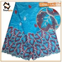 Buy cheap Bazin riche lace fabric | embroidery guiniea brocade lace from wholesalers