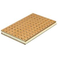 Slotted Hole Acoustic Panels Perforated Acoustic Ceiling Til