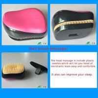 Best Woman New Arrival manufacturer Plastic Travel Nylon Hair Brush Comb Massager with Cover wholesale