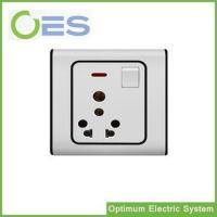 Best South Asia Standard One Way Multifunctional 13A Swtich Socket Outlet/ Electrical Socket with Switch wholesale