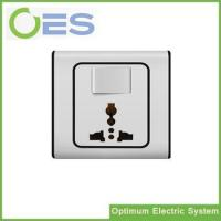 Best Large High Quality Supply One Gang One Way Electrical Switch with MF 3Pin Socket/ Switch Socket wholesale